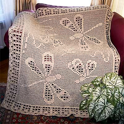 Ravelry Dragonfly Afghan Pattern Fa704 Pattern By Hartmut Hass