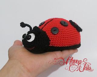Ladybug Amigurumi Crochet Pattern Free : Ravelry: Ladybug (Colourful Crochet, Amigurumi) pattern by ...
