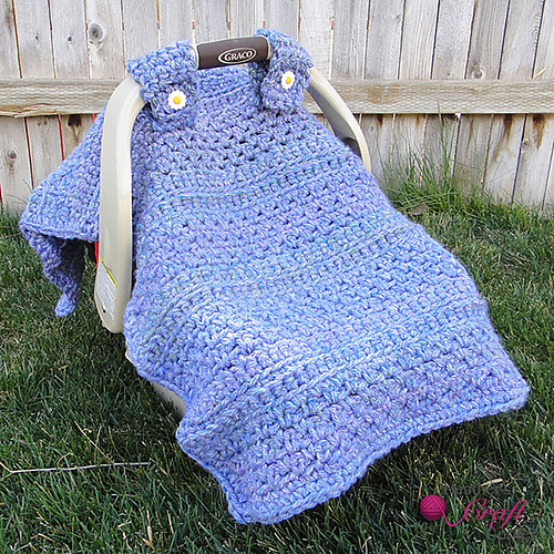 Ravelry Quick N Easy Chunky Car Seat Canopy Tent Cover Pattern By