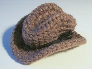 Ravelry Mini Cowboy Hat Pattern By Heather Sonnenberg