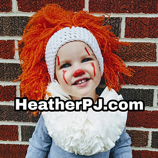 Ravelry  Clown Wig pattern by Heather Johnson of Heatherpj b8759ebb1a0f