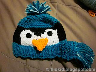 Ravelry Penguin Knit Hat Pattern By Heidi Arjes