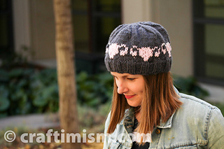 126e4837b05 Ravelry  Uterus Patterned Knit Hat pattern by Heidi Arjes