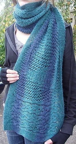 1f42e599dbd6 Ravelry  NEPTUNE s NET Lace Stole pattern by Karen Walker