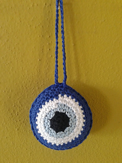 Ravelry: The Evil Eye Charm pattern by 4Elli