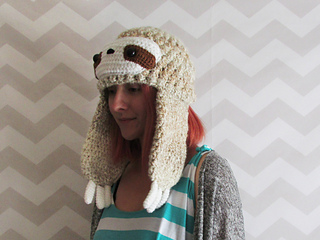 Ravelry  sloth hat pattern by Hello Happy 12ee06644cd