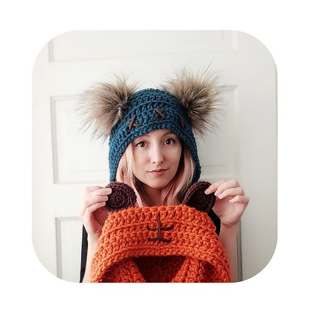 Ravelry Ewok Inspired Hood Pattern By Hello Happy