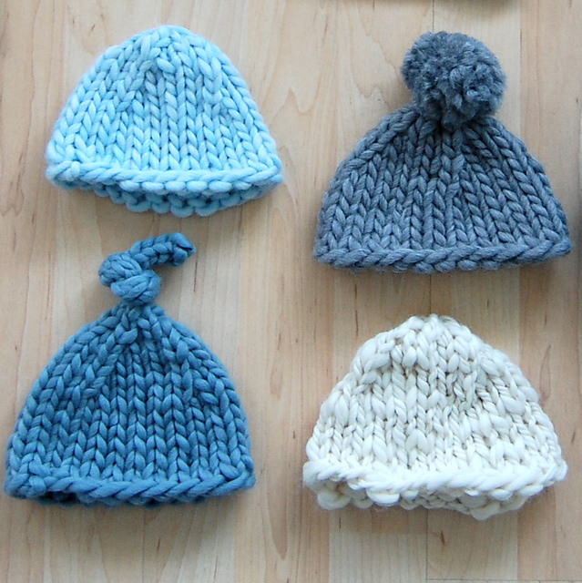 89217304c59 ... good ravelry super bulky newborn hat pattern by jen geigley 5bae3 2da2a