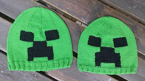 Ravelry  Minecraft Creeper Hat pattern by Jillian Thom f861d31b7d3
