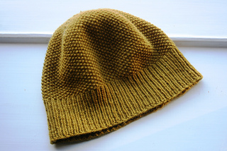 fd71d2dade7 Ravelry  Simple Moss Stitch Hat pattern by Halldora J