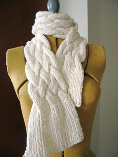 Ravelry Chunky Braided Scarf Pattern By Jimenita