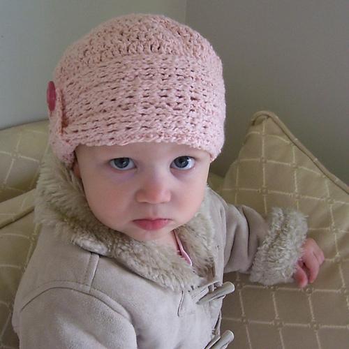 Ravelry Knit Look Crocheted Cloche Pattern By Lisa Van Klaveren