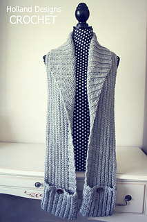 Pocket Cowl Scarf Pattern By Lisa Van Klaveren Ravelry