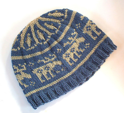Ravelry Moose In The Woods Hat Pattern By Holly Marie