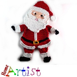 Ravelry Santa Claus Applique Pattern By Homeartist Crochet