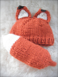 c76d703fb Ravelry  Woodland Fox Baby pattern by Kristen Cooper