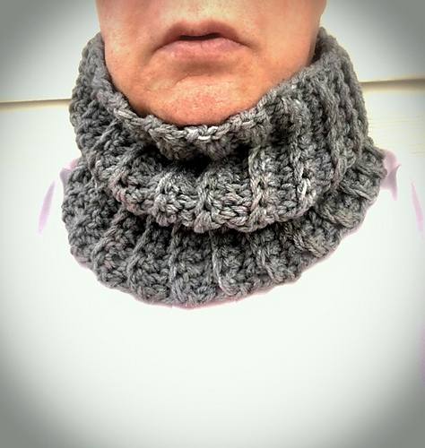 Ravelry Mens Ribbed Neck Warmer Pattern By V Nol