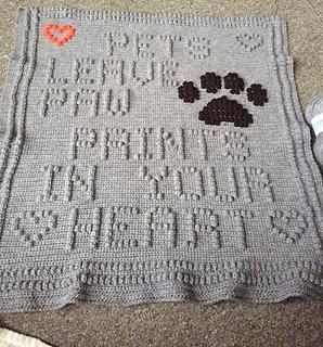 Ravelry Dog Blanket Pattern By Nancy Liggins