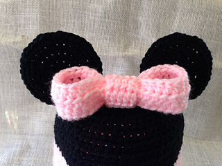 Ravelry  Minnie Mickey Mouse Hat pattern by Amber Hoover 5e11dde9e20