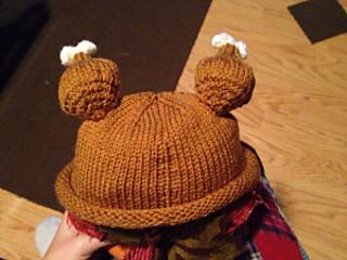 Ravelry  Baby Turkey Hat pattern by Rachel Howser 3f5c6089224