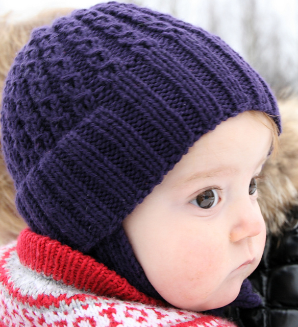 Ravelry: Double Rib Toddler Hat pattern by Torunn Espe