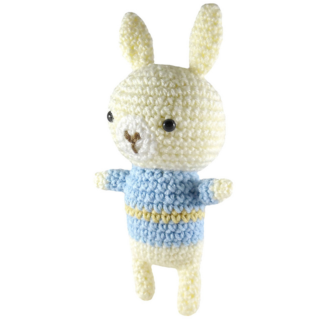 Ravelry: * OUTDATED* Sweater Bunny pattern by i crochet things