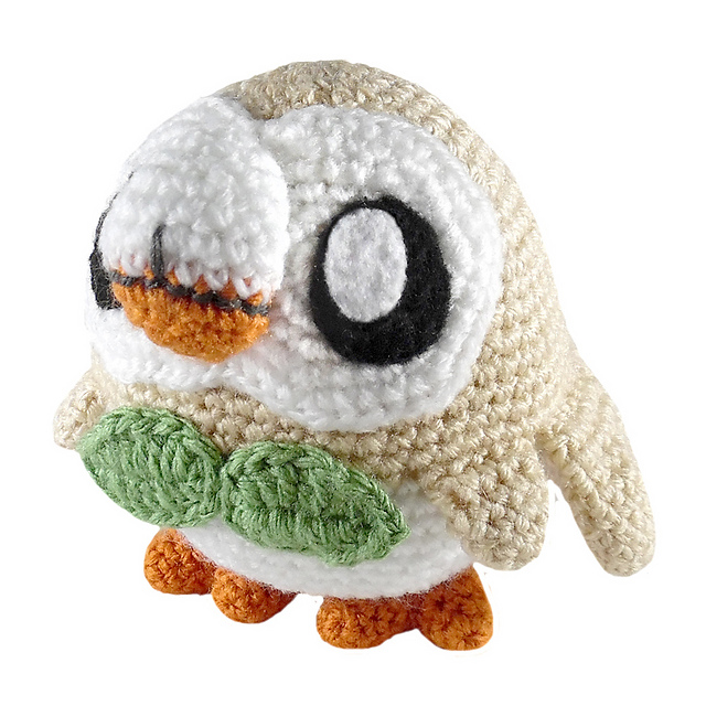 Ravelry: Pokemon: Rowlet pattern by i crochet things