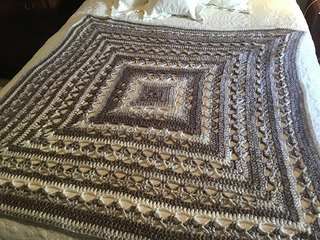 Lunar Crossings Square Blanket Pattern By Kim Guzman Ravelry