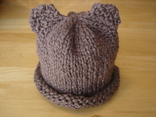102ce42f679 Ravelry  Baby Bear Hat for Newborn or Preemie pattern by Fiber Flux    Jennifer Dickerson