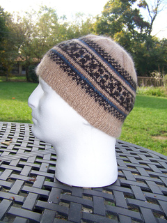 Ravelry  Max Men s Fair Isle Hat pattern by Heather Hoefle ec532da7fd7