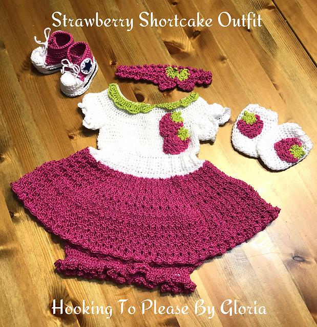 Ravelry Strawberry Shortcake Outfit Pattern By Gloria Sustaita