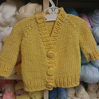 e95840d62 Ravelry  Cloud Cotton Baby Cardigan pattern by Ingrid Mutsaerts