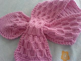Ravelry: Honeycomb Scarf For Kids pattern by Jolene Lye