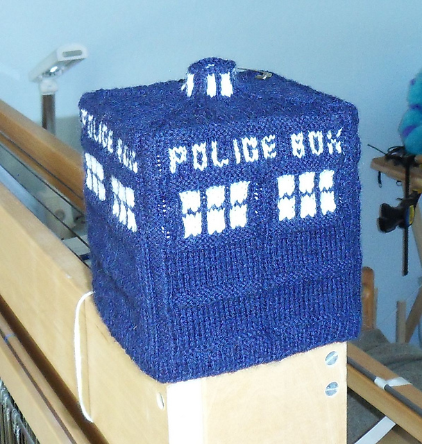 Ravelry Tardis Tissue Box Cover Pattern By Charla Henney
