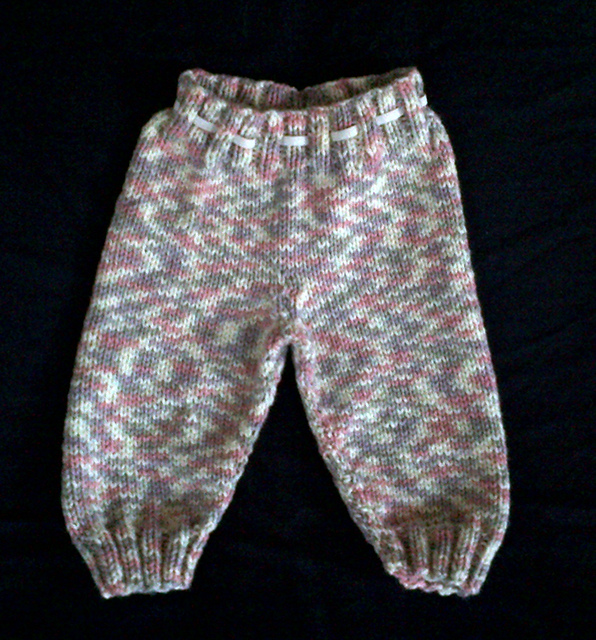Ravelry Oh Baby Knitted Pants Pattern By Karen Van Harten