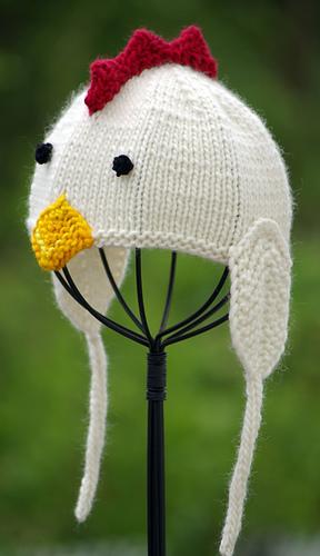 Ravelry  Little Chicken Baby Hat pattern by Irina Poludnenko 620d80271c4