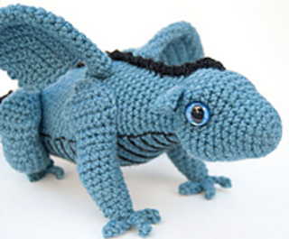 Amigurumi Baby Dragon : Ravelry amigurumi baby dragon pattern by karla fitch