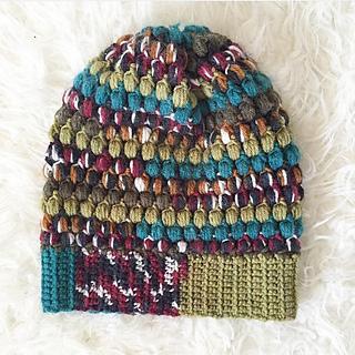 Ravelry puff stitch slouchy beanie pattern by jessica carey 2015 dt1010fo