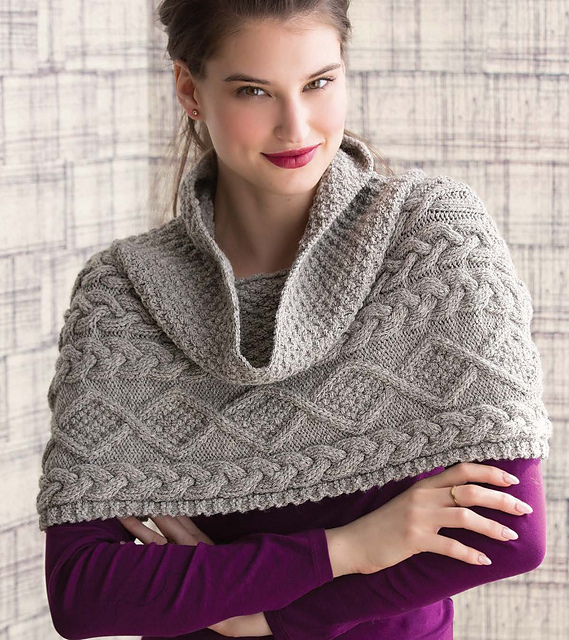 Ravelry: Cable Cowlcho pattern by Audrey Drysdale