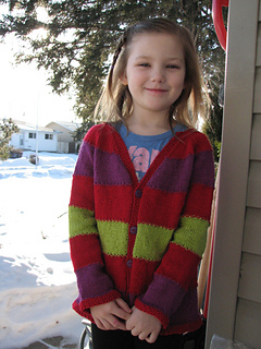 3f65ef816aa8 Ravelry  Equality Stripe Cardigan pattern by Bex Hopkins