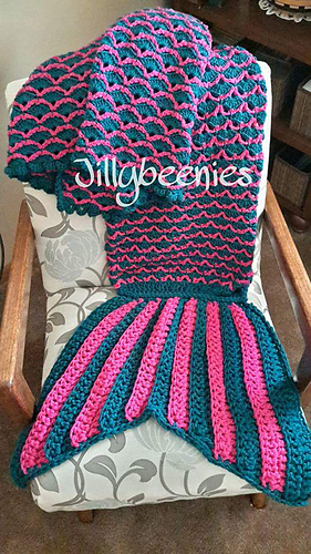 Real_teal_and_hot_pink_mermaid_tail_blanket_-_kaitlyn_medium