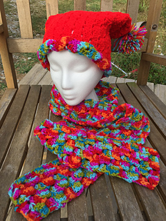 C2C Scarf and Hat pattern by Intimate Threads- Jaime Johnson - Ravelry