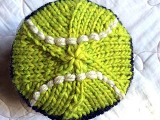 Ravelry  Tennis Ball Roll-Brimmed Hat pattern by Jamie Hoffman 55582035adb