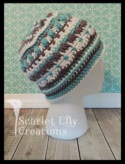 2d0837101be Ravelry  Stitch Sampler Hat pattern by Jamie Huisman