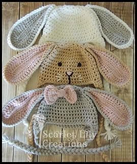 f1b019ce6ff Ravelry  Bunny Hat pattern by Jamie Huisman