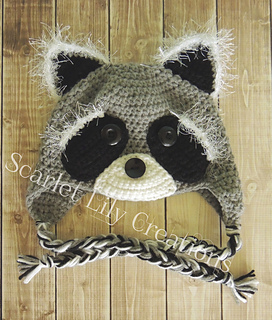 ae02a0fa42d Ravelry  Raccoon Hat pattern by Jamie Huisman
