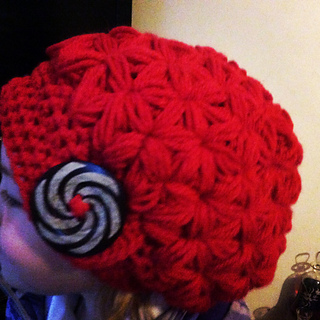 Ravelry  Star puff slouchy hat pattern by Janet fullalove dded57139e1