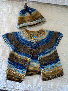 d76662263255 Ravelry   One Baby Sweater  pattern by Erika Flory