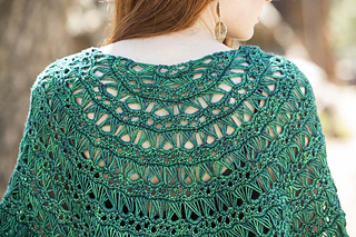 Ravelry Flying Broomstick Lace Shawl Pattern By Brenda K B Anderson