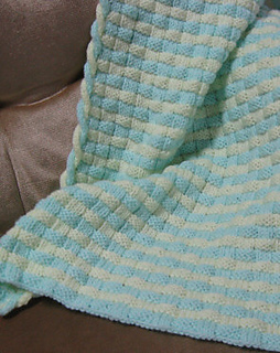 Ravelry Two Color Basketweave Blanket Pattern By Judy Lamb